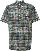 Engineered Garments 'DK Floral Madras' short sleeve shirt - men - Cotton - M