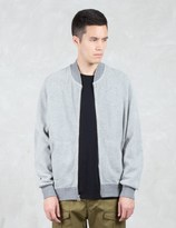 Wings + Horns Honeycomb Knit Bomber Jacket