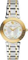 Versace Divine gold and stainless steel watch