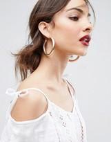 Asos Large Tube Hoop Earrings