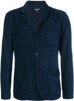 Giorgio Armani patch pockets blazer - men - Polyamide/Spandex/Elastane/Cupro/Virgin Wool - 54
