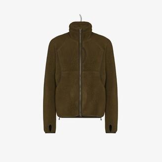 Snow Peak green Polartec fleece jacket