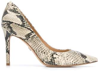 Sam Edelman snake print effect pumps
