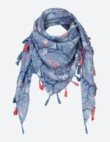 Fat Face Woodland Square Scarf