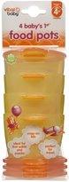 Vital Baby 1st Food Pots - Orange - 4 ct