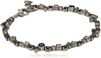 Sorrelli Black Onyx Honeysuckle Bracelet