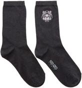 Kenzo Grey Tiger Socks