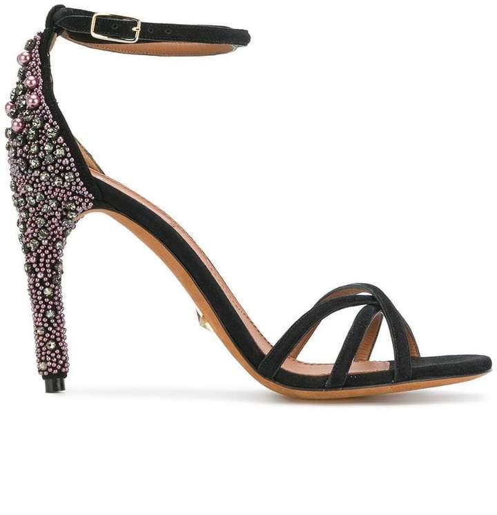 Givenchy embellished heel sandals