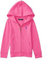 Ralph Lauren Full Zip Hoodie, Toddler & Little Girls (2T-6X)
