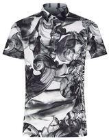Versace Baroque Greek Polo Shirt