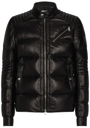 Moncler Garrel Leather Jacket