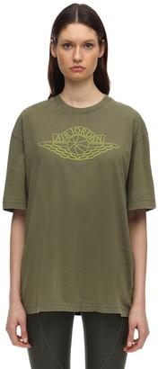 Nike Jordan Loose Fit Cotton Jersey T-shirt