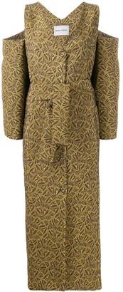 Henrik Vibskov embroidered boxy dress