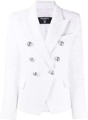 Balmain Double-Breasted Fitted Jacket