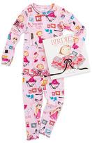 Books To Bed Birdie's Big-Girl Dress Pajamas and Book Set, 8-10