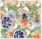Kiton floral print scarf - men - Silk/Linen/Flax - One Size