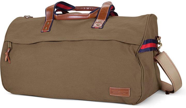 Tommy Hilfiger Canvas Duffel Bag