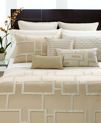 Hotel Collection CLOSEOUT! Bedding, Maze King Duvet Cover