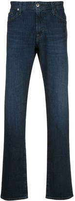 AG Jeans Graduate mid-rise straight jeans