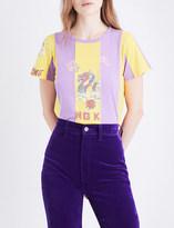 Marc Jacobs Hong Kong graphic-print cotton-jersey T-shirt
