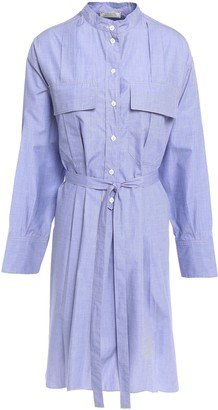 Nina Ricci Cotton-poplin Mini Shirt Dress