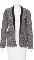 Sandro Structured Patterned Blazer
