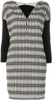Lanvin printed panelled dress