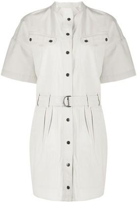 Etoile Isabel Marant Zolina belted waist shirt dress