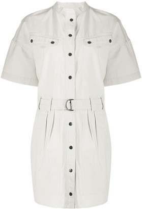 Etoile Isabel Marant Zolina belted waist shirt dress