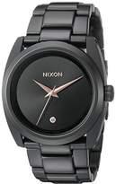 Nixon Women's A935001 Queenpin Analog Display Japanese Quartz Black Watch