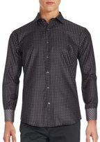 Bugatchi Long Sleeve Cotton Shirt