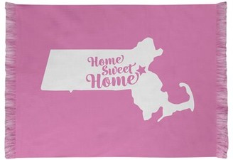 East Urban Home Home Sweet Boston Pink Area Rug