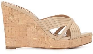 Aquazzura Perugia wedge sandals