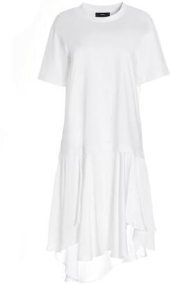 Diesel D-Jollie Asymmetric T-Shirt Dress