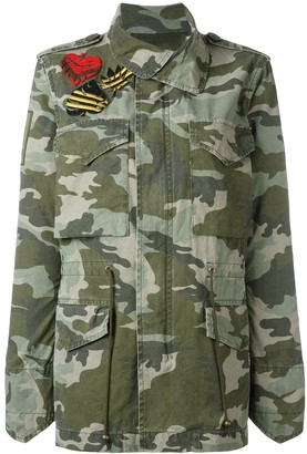 Mr & Mrs Italy Camouflage Military Jacket