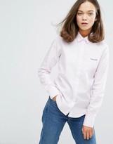 Maison Labiche Mademoiselle Embroidered Logo Shirt