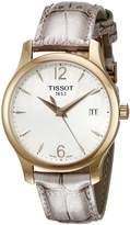 Tissot Women's T0632103711700 Tradition Analog Display Swiss Quartz Grey Watch