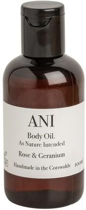 Ani Skincare Rose & Geranium Body Oil