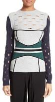 Yigal Azrouel Women's Knit Colorblock Sweater