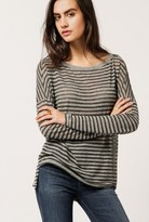 Stateside Burnout L/S Striped Tee