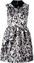 McQ by Alexander McQueen pony print party dress - women - Polyamide/Polyester/Acetate/Virgin Wool - 38