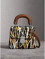 Burberry The Small DK88 Splash Top Handle Bag