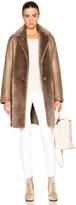 Helmut Lang Reversible Shearling Coat