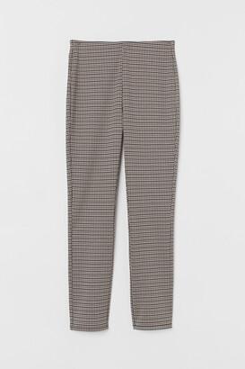 H&M Jacquard-patterned leggings