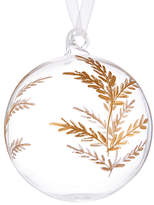 John Lewis Into the Woods Clear Gold Etched Bauble