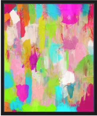 PTM Images Hot Pink Dream Ii Canvas With Floater Frame