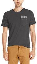 RVCA Men's Stamp Label Pocket T-Shirt