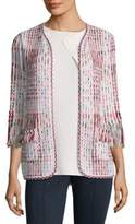 St. John Soft Ribbon Cardigan