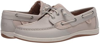 Sperry Songfish Saffiano Leather (Rose Dust) Women's Slip on Shoes
