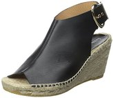 Bettye Muller Women's Dresser Leather Espadrille Sandal